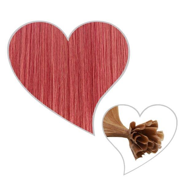 25 Strähnen 35cm rosa-C10