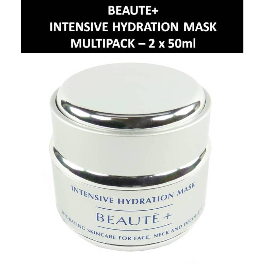 Beaute+ - Intensive Hydration Mask - Maske - Gesichts Pflege  Kosmetik 2 x 50ml