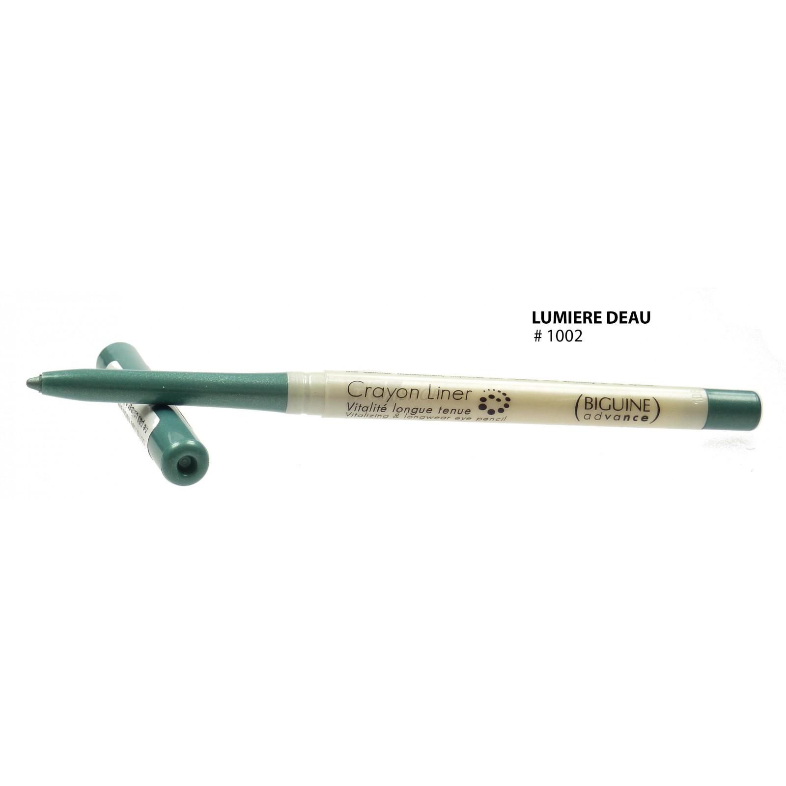 BIGUINE ADVANCE - CRAYON LINER VITALITE LONGUE TENUE Augen Stift Make up - 0-35g - 1002 Lumiere d-eau
