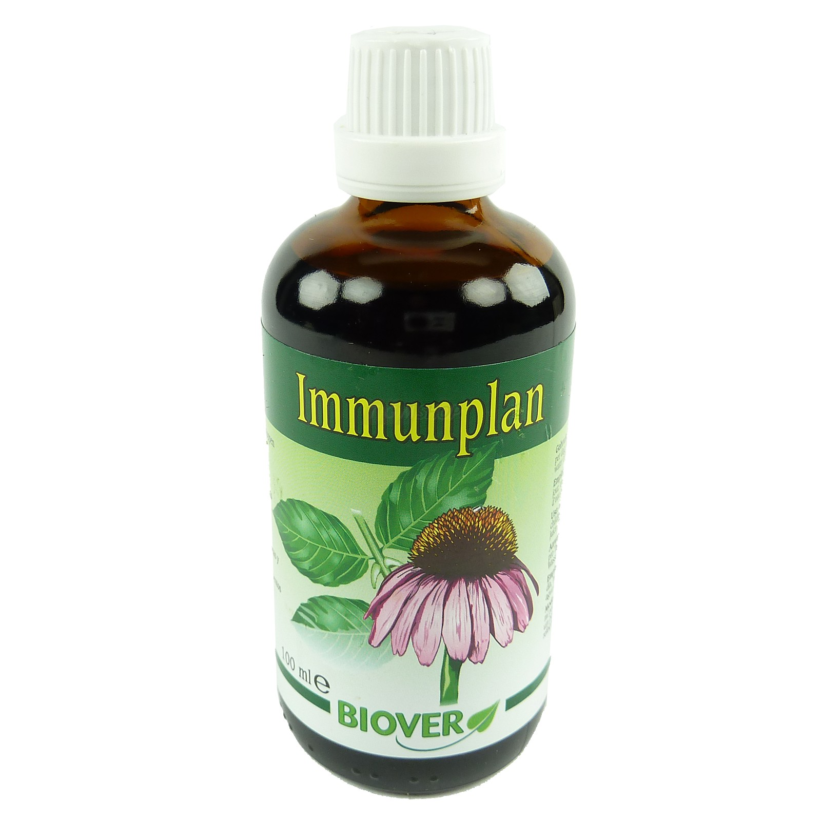 Biover -  Pflanzen Tropfen - Nahrungs Ergänzung  Mineralien  Homöopathie 100ml - Immunplan