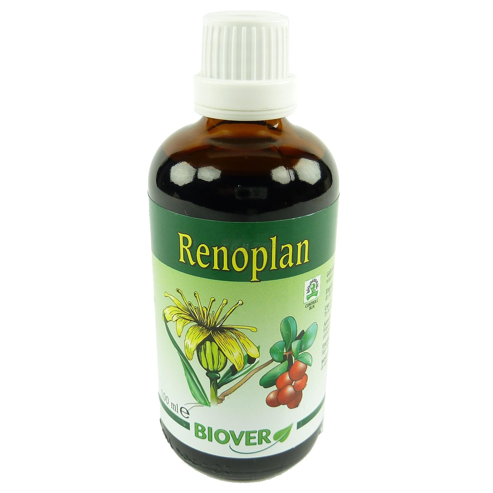 Biover -  Pflanzen Tropfen - Nahrungs Ergänzung  Mineralien  Homöopathie 100ml - Renoplan
