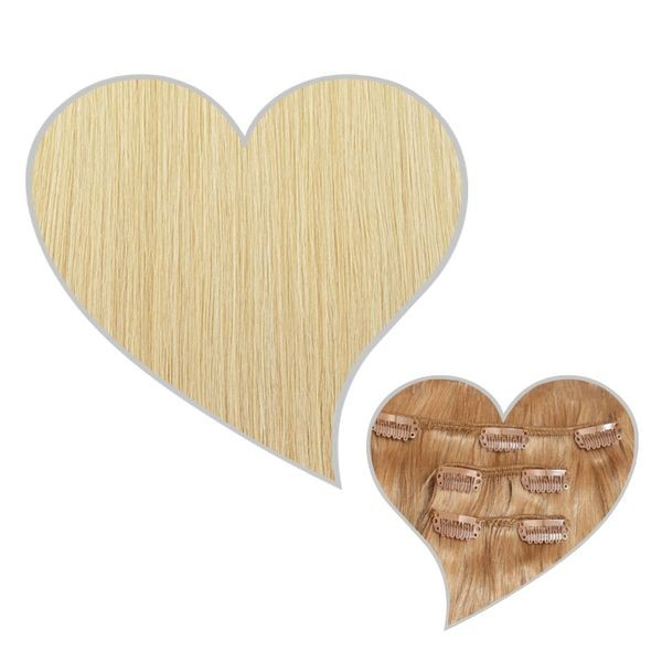 Clip-Extensions 90g-40cm champagnerblond-22