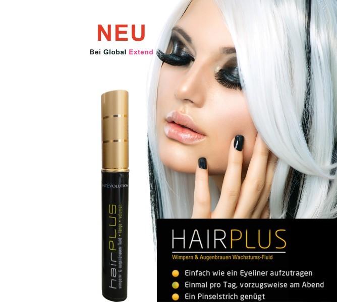 HairPlus Facevolution Wimpern-Fluid