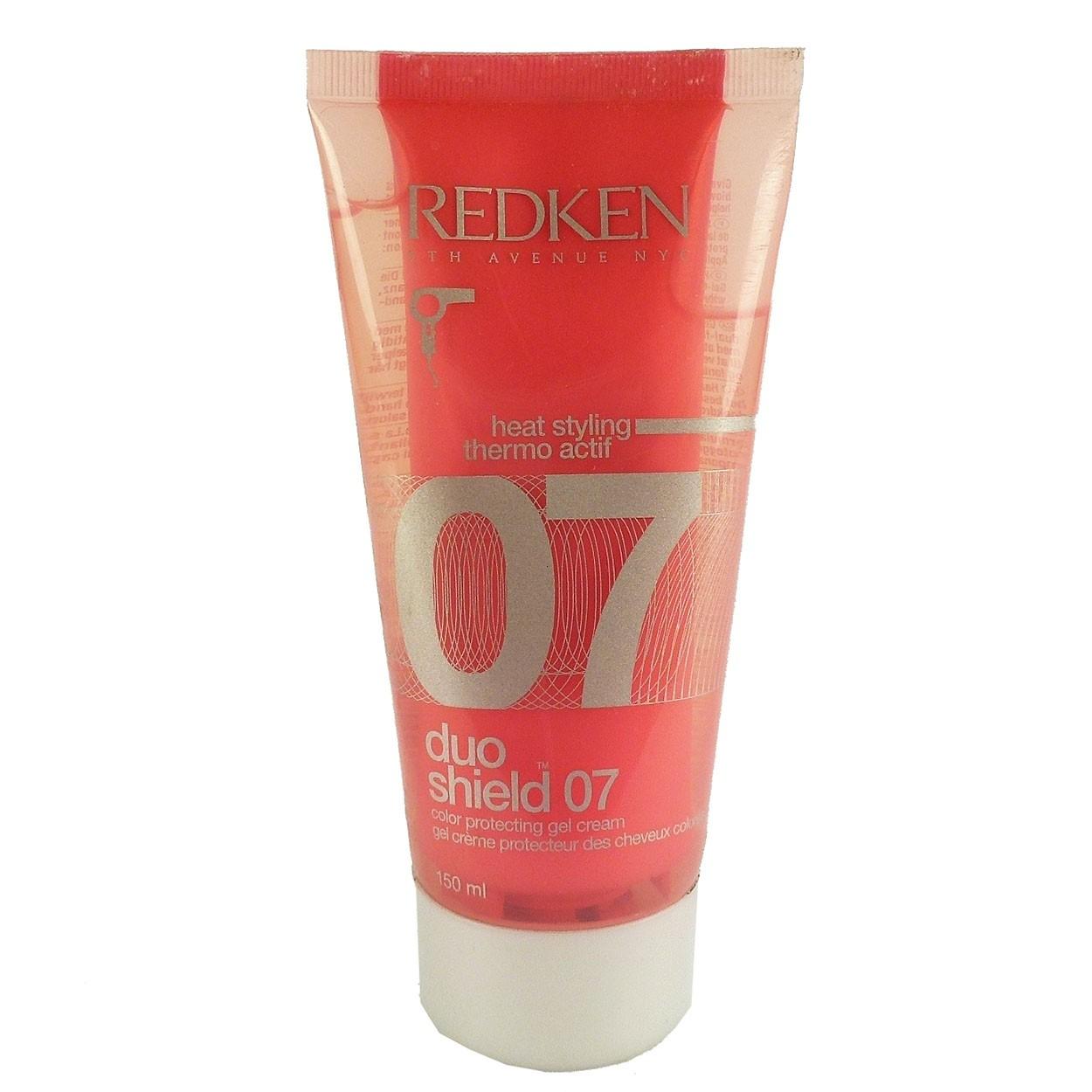 Redken Heat Styling Duo Shield 07 Gel Color Protection Gel Cream 150ml